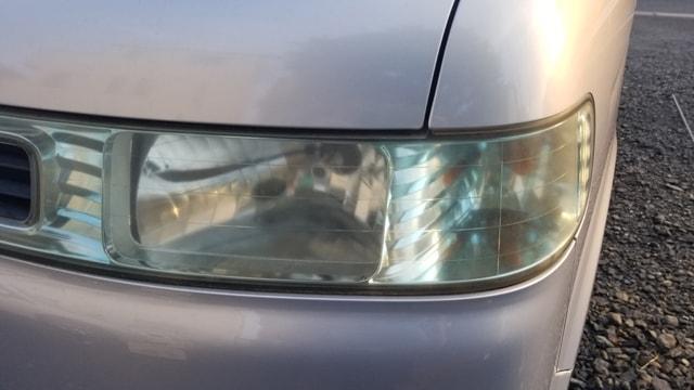 自動車 ヘッドライト 曇り 黄ばみ