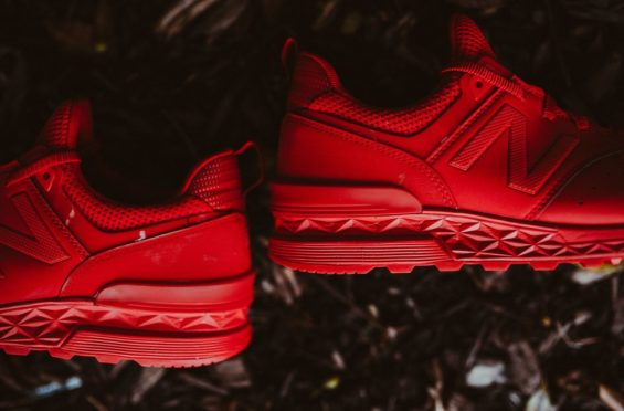 Balance 574 Sport Is Here In Triple Red