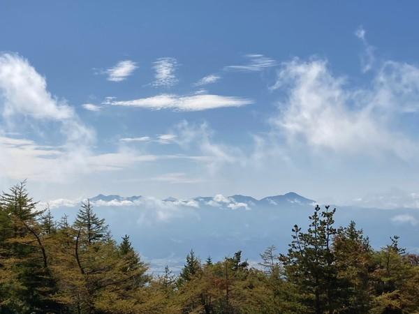 八ヶ岳の大展望