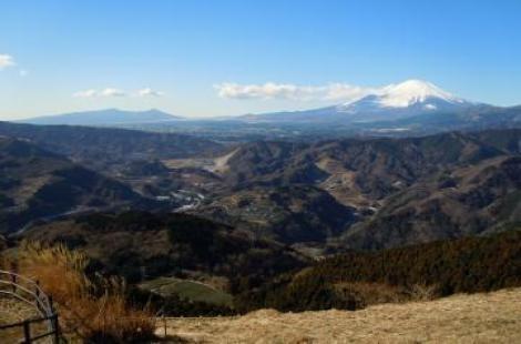 大野山から富士山