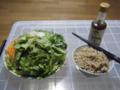 初期サラダ。