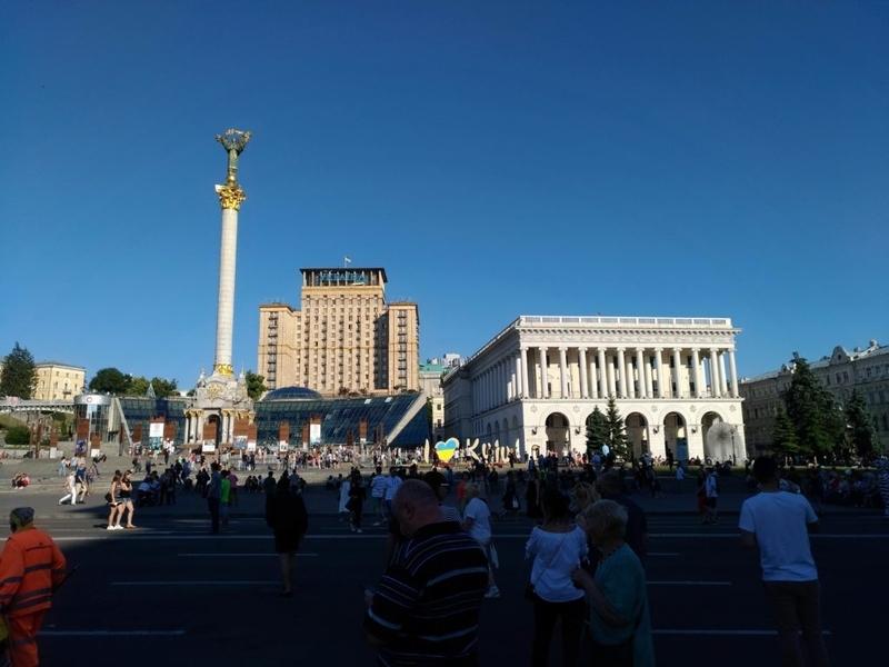 独立広場 ユーロマイダン