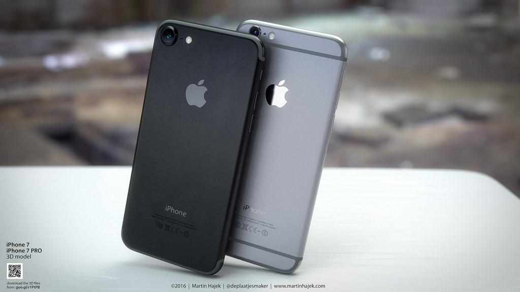 次期「iPhone 7」のコンセプト画像!新色「スペースブラック」はお洒落