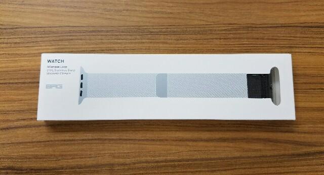 コスパ最高「Apple Watch Series 2 42mm」でも使えるミラネーゼループ交換バンド購入レビュー!