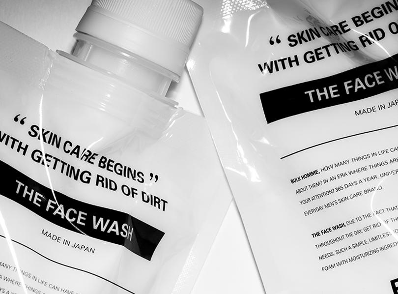 【バルクオムの使い方】THE FACE WASHの洗顔方法