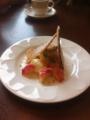 桃のミルフィーユパイ