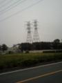 白岡線2号と西越谷線4号から近い双子鉄塔
