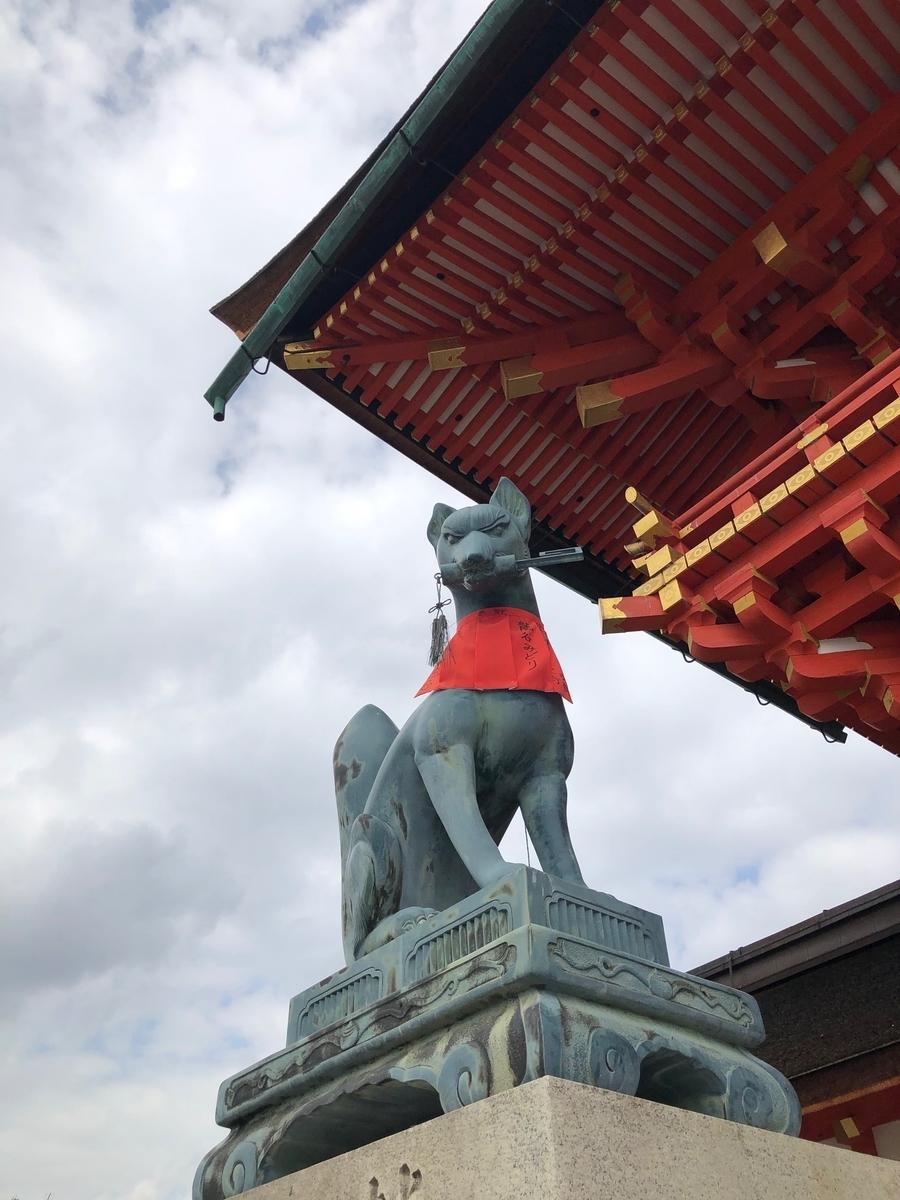 伏見稲荷,京都,kyoto,fushimiinari,白狐