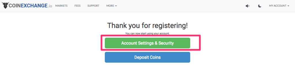 coinexchange-click-account-settings-security