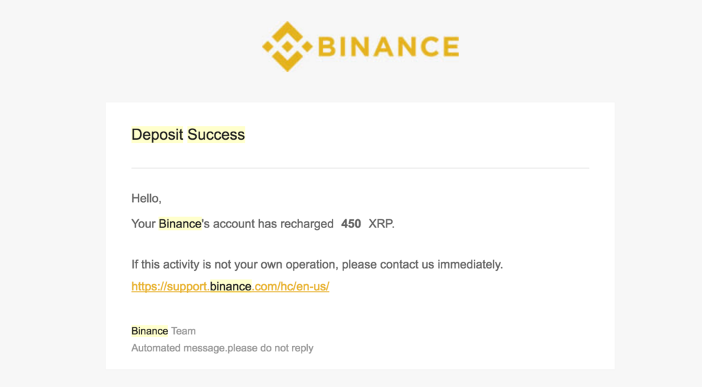 binance-deposit-mail