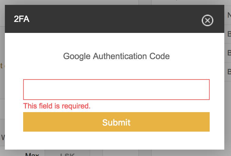binance-enter-google-auth-code