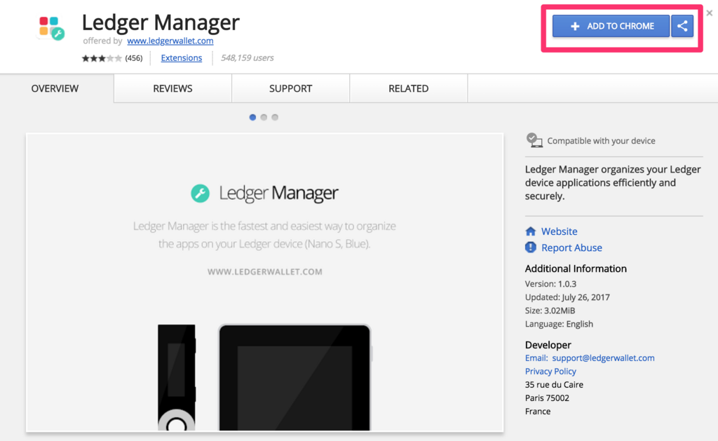 ledger-manager-add-to-chrome