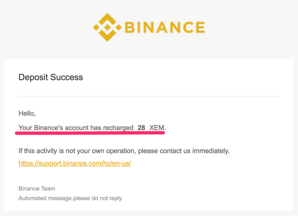 mail-binance-get-nem