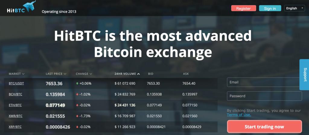 HitBTCの日本人取引の政府規制