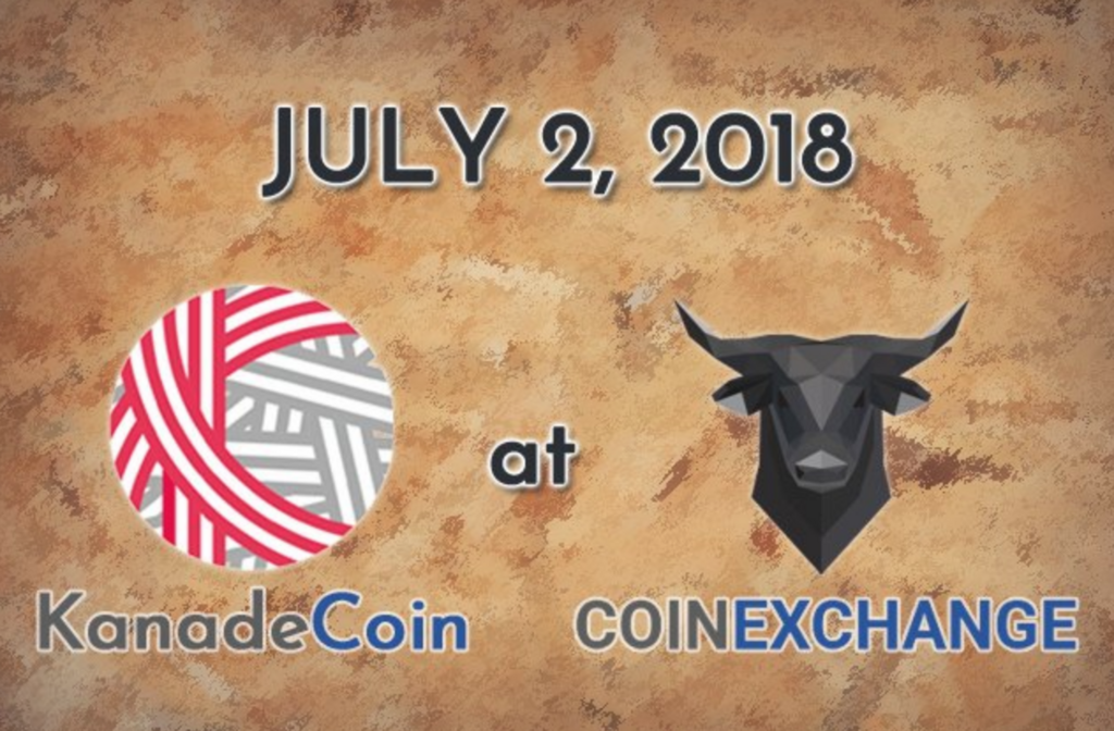 kanadecoin-coinexchange-上場