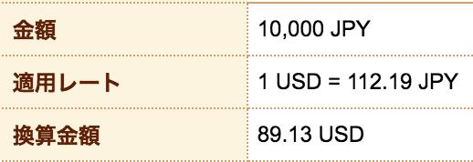 新生銀行(外貨預金)のドル購入