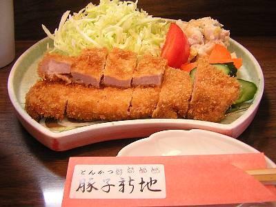 ロースかつ定食(2009/02/28)