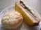 わさび菜サンド、ココナッツパン(2009/08/05)