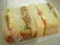 [食_リトルマーメイド]根菜とタマゴサラダのサンド(2009/10/15)