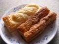 [食_ミスタードーナツ]カレーフランクパイ、スティックパイ マロン(2009/11/02)