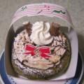 [食_ミスタードーナツ]ドーナツリース 抹茶 マロンクリーム(2009/11/30)