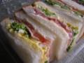 [食_リトルマーメイド]イギリスパンサンド(菜の花)(2010/02/26)