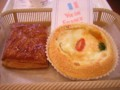 [ヴィドフランス]渋皮マロンパイ、北海道ポテトのグラタンパン(2010/11/11)