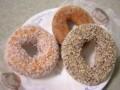 [ミスタードーナツ]ココナツ、国産米粉のドーナツ チョコあられ・ダブル黒糖(2010/11/26)