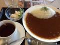 [カフェマイム]青空屋台の野菜カレー(2013/01/19)