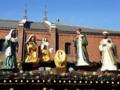 [クリスマスマーケット]ヒュッテ(屋台)の飾り(2011/12/18)