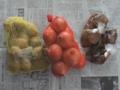 [食]ジャガイモ・タマネギ・漬物(2013/06/29)