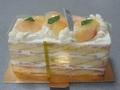 [食]白桃のショートケーキ(2019/05/19)