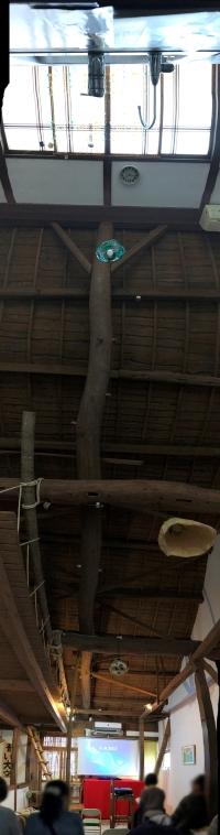 ツギハギ荘の天井