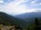 雁坂峠の眺めと富士山