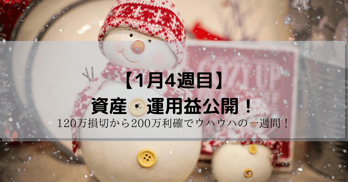 運用益 週間 100万円 デイトレ