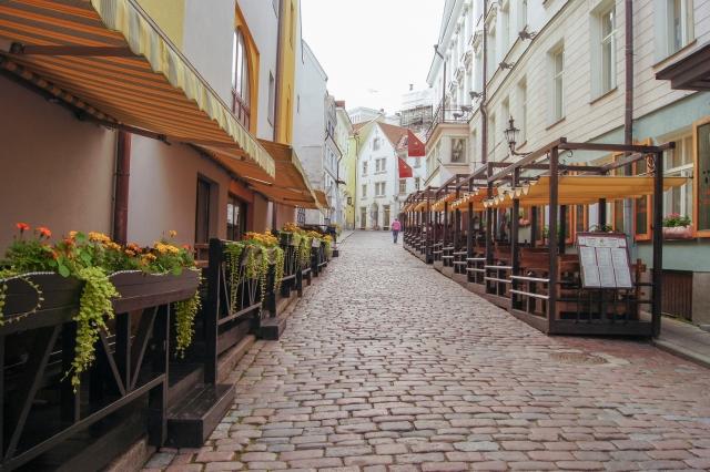 エストニアの首都・タリンの街並み