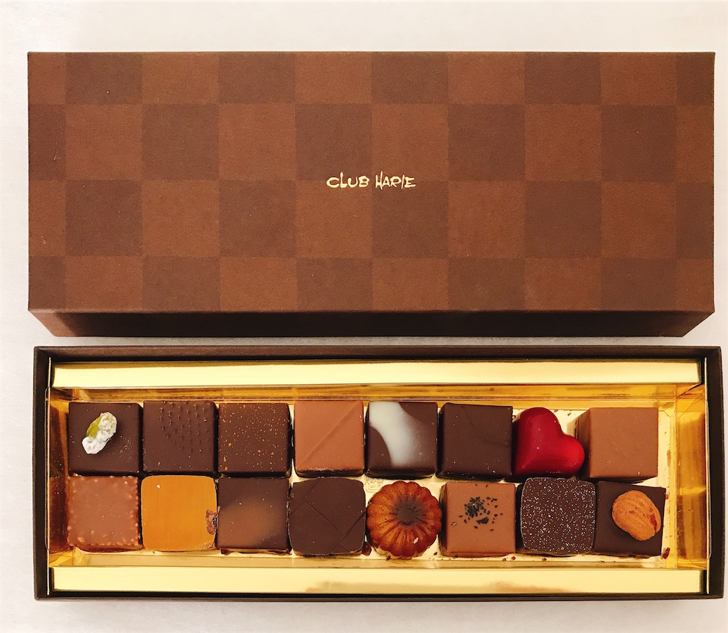 ハリエ チョコ クラブ クラブハリエ『ショコラバーム』を実食 面白い仕掛けが・・・