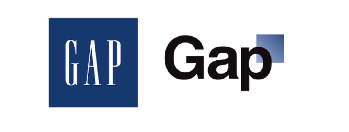 GAPのロゴの変化