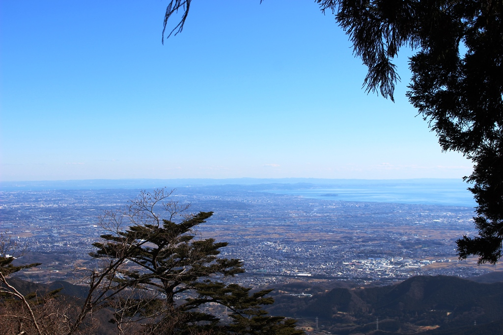 江ノ島方面の景色
