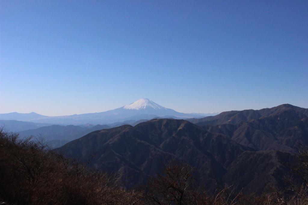 山頂富士山
