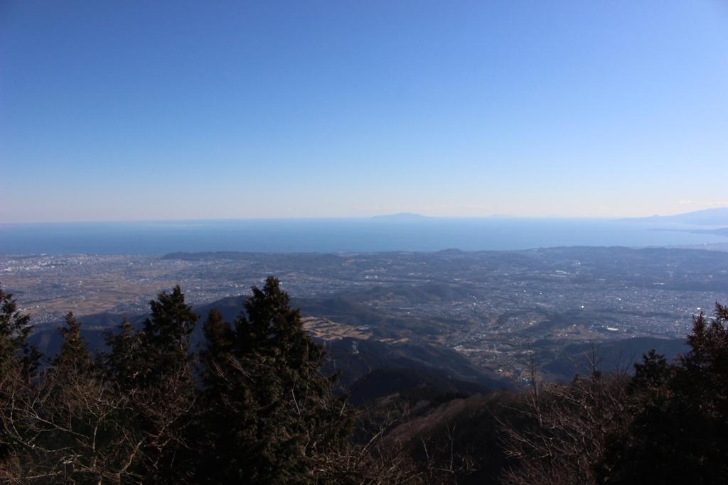大島方面の景色