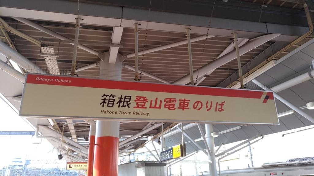 箱根登山電車のりば