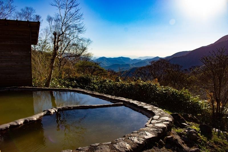 露天風呂からの眺め2