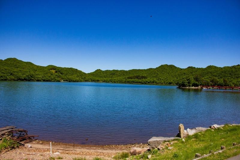 大沼の風景