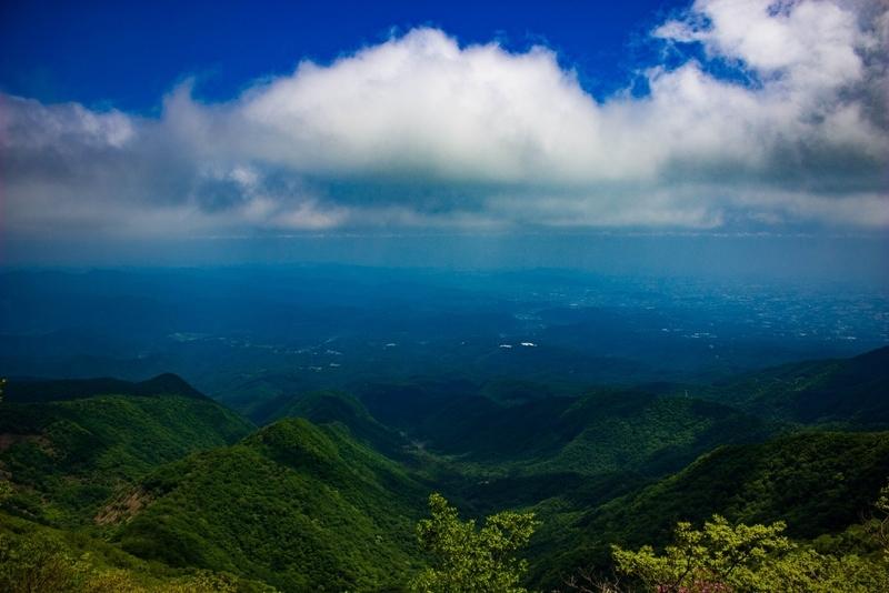 駒ケ岳からの眺め