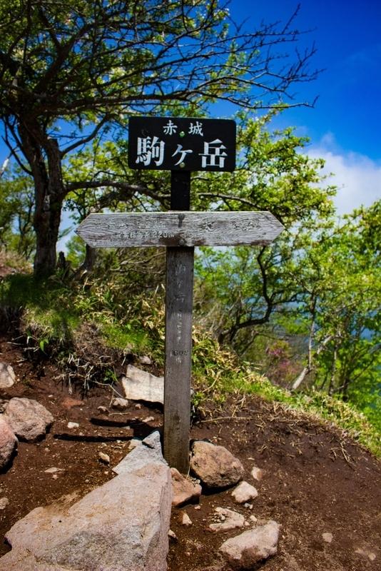 駒ケ岳に到着