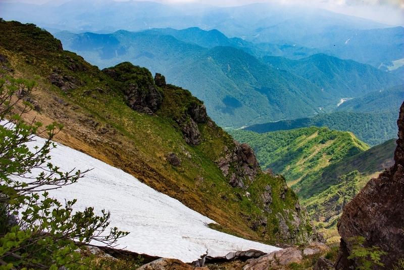 稜線からの景色その3