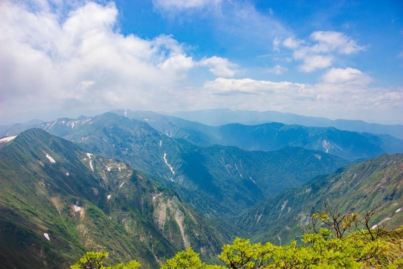 山頂からの眺めその1