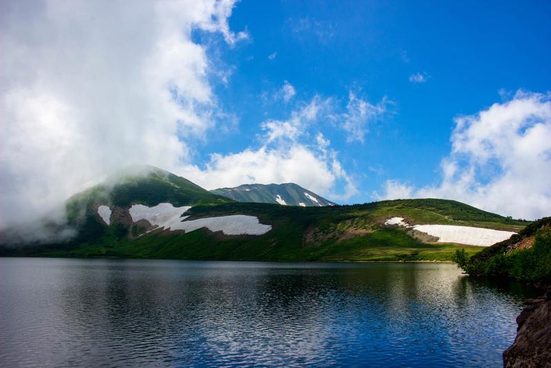 大池の写真