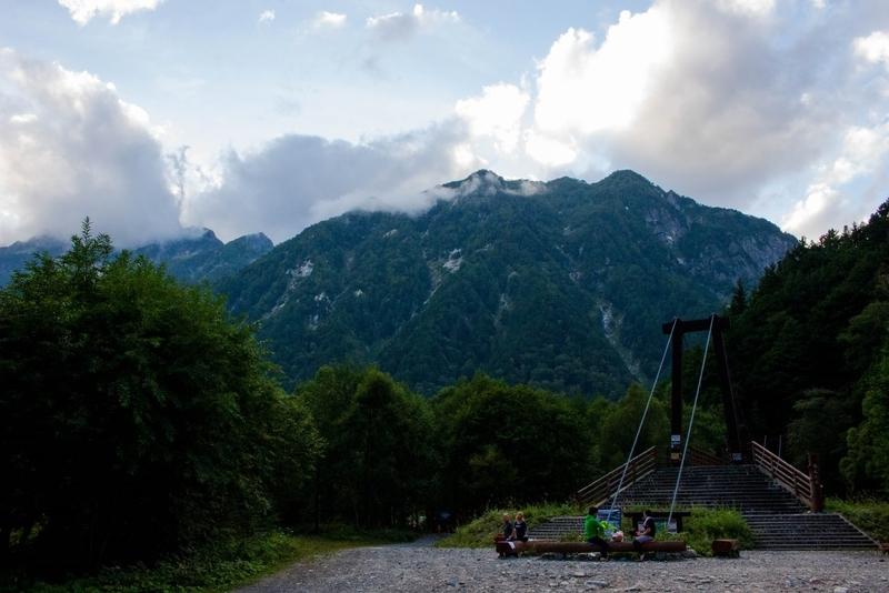 前穂高岳の威容